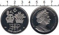 Изображение Монеты Великобритания Фолклендские острова 1 крона 2011 Серебро Proof