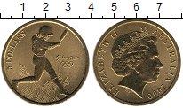 Изображение Монеты Австралия и Океания Австралия 5 долларов 2000 Латунь UNC