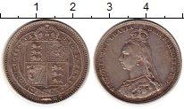 Изображение Монеты Европа Великобритания 1 шиллинг 1887 Серебро XF