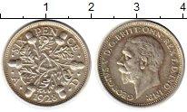 Изображение Монеты Великобритания 6 пенсов 1928 Серебро XF