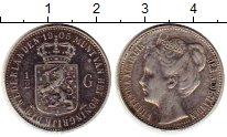 Изображение Монеты Европа Нидерланды 1/2 гульдена 1905 Серебро XF