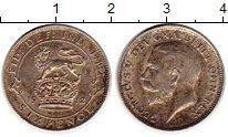Изображение Монеты Европа Великобритания 6 пенсов 1912 Серебро XF+
