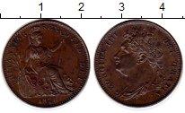 Изображение Монеты Европа Великобритания 1 фартинг 1826 Медь XF+
