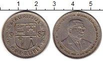 Изображение Монеты Африка Маврикий 1 рупия 1987 Медно-никель XF