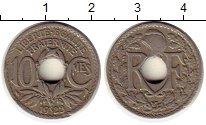 Изображение Монеты Европа Франция 10 сантим 1923 Медно-никель XF