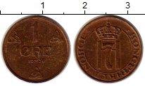 Изображение Монеты Норвегия 1 эре 1936 Бронза XF