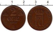 Изображение Монеты Норвегия 2 эре 1938 Бронза XF