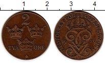 Изображение Монеты Европа Швеция 2 эре 1929 Бронза XF