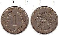 Изображение Монеты Европа Финляндия 1 марка 1932 Медно-никель XF
