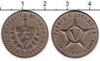 Изображение Монеты Северная Америка Куба 5 сентаво 1960 Медно-никель XF