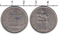 Изображение Монеты Франция Полинезия 1 франк 1979 Алюминий XF