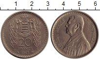 Изображение Монеты Европа Монако 20 франков 1947 Медно-никель XF
