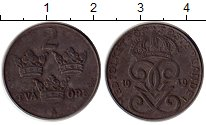 Изображение Монеты Швеция 2 эре 1949 Железо XF