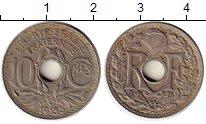 Изображение Монеты Франция 10 сантим 1935 Медно-никель XF