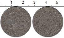 Изображение Монеты Африка Марокко 1 франк 1921 Медно-никель XF