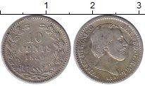 Изображение Монеты Нидерланды 10 центов 1880 Серебро XF