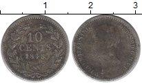 Изображение Монеты Европа Нидерланды 10 центов 1848 Серебро VF