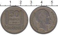Изображение Монеты Африка Алжир 50 франков 1949 Медно-никель XF