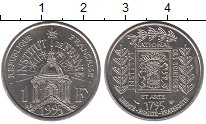 Изображение Монеты Франция 1 франк 1995 Медно-никель UNC-