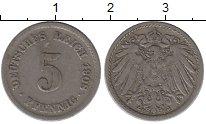 Изображение Монеты Европа Германия 5 пфеннигов 1908 Медно-никель XF