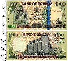 Изображение Банкноты Уганда 1000 шиллингов 2009  UNC Силосное зернохранил