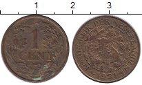 Изображение Монеты Нидерланды 1 цент 1921 Медь XF