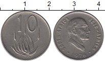 Изображение Монеты ЮАР 10 центов 1976 Медно-никель XF