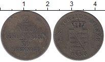 Изображение Монеты Германия Саксония 2 гроша 1853 Серебро VF