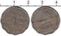 Изображение Монеты Индия 1 анна 1912 Медно-никель XF