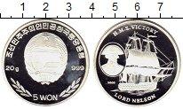 Изображение Монеты Азия Северная Корея 5 вон 2003 Серебро Proof-
