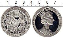 Изображение Монеты Великобритания Гибралтар 21 экю 1993 Серебро Proof
