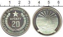 Изображение Монеты Африка Мадагаскар 20 ариари 1978 Серебро Proof-