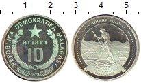 Изображение Монеты Африка Мадагаскар 10 ариари 1978 Серебро Proof-