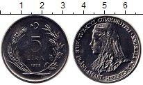 Изображение Монеты Турция 5 лир 1979 Медно-никель UNC-