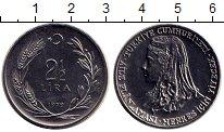 Изображение Монеты Азия Турция 2 1/2 лиры 1979 Медно-никель UNC-