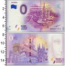 Изображение Банкноты Европа 0 евро 2018  UNC Чемпионат Мира по фу