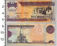 Изображение Банкноты Доминиканская республика 50 песо 2012  UNC