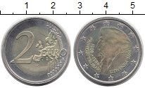 Изображение Монеты Европа Словения 2 евро 2008 Биметалл UNC-