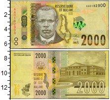 Изображение Банкноты Малави 100 динар 2000  UNC-