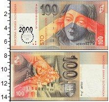 Изображение Банкноты Европа Словакия 100 крон 1993  UNC