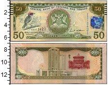 Изображение Банкноты Южная Америка Тринидад и Тобаго 50 долларов 2006  UNC