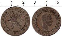 Изображение Монеты Европа Бельгия 20 сантим 1861 Медно-никель XF