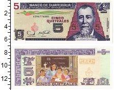 Изображение Банкноты Гватемала 5 кетсалей 2006  UNC