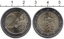 Изображение Монеты Европа Германия 2 евро 2015 Биметалл UNC-