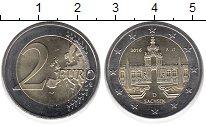 Изображение Монеты Германия 2 евро 2016 Биметалл UNC- A,Федеральные земли: