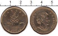 Изображение Мелочь Северная Америка Канада 1 доллар 2004 Латунь UNC-