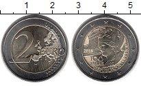 Изображение Монеты Европа Австрия 2 евро 2018 Биметалл UNC-