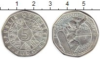 Изображение Монеты Европа Австрия 5 евро 2010 Серебро UNC-
