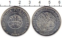 Изображение Монеты Европа Португалия 5 евро 2007 Серебро XF