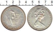 Изображение Монеты Остров Мэн 1 крона 1982 Серебро UNC-